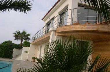 architecte joel lecouturier villa les issambres deck