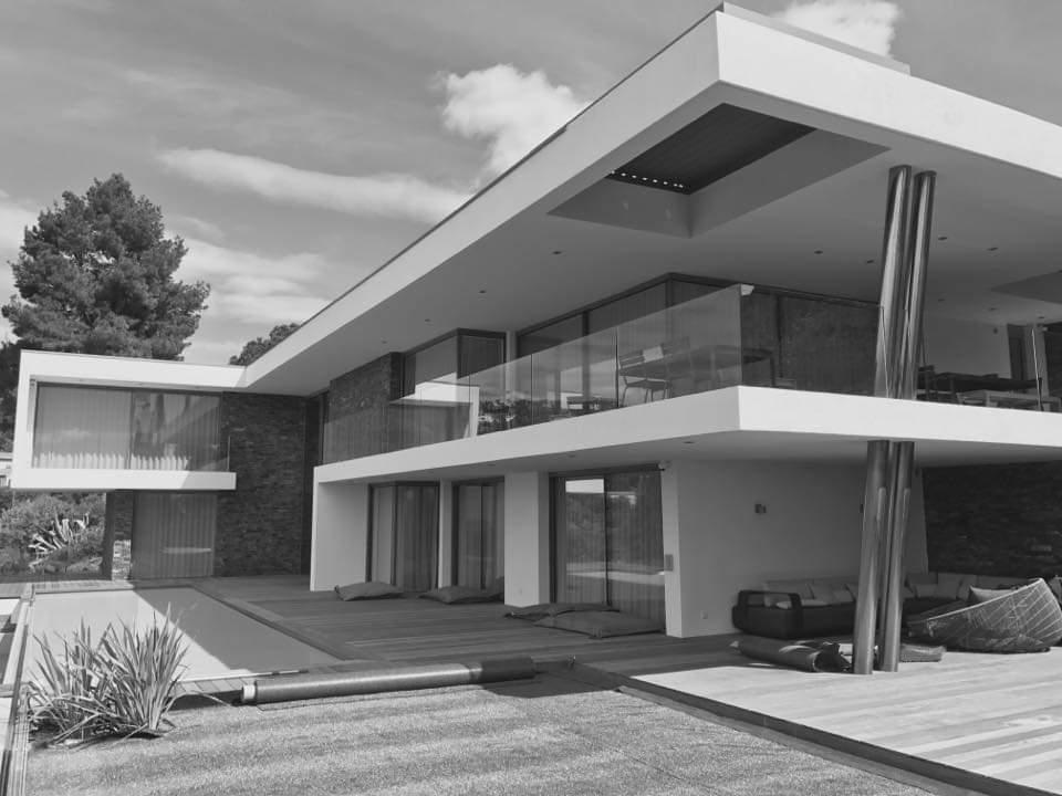 Villa transparence joel lecouturier architecte dplg région paca