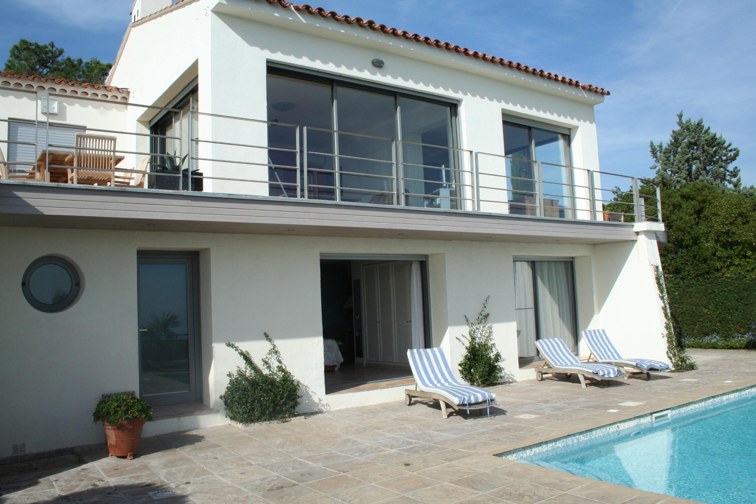 architecte joel lecouturier villa les issambres