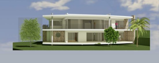 Villa Ellipse - joel lecouturier architecte- les issambres